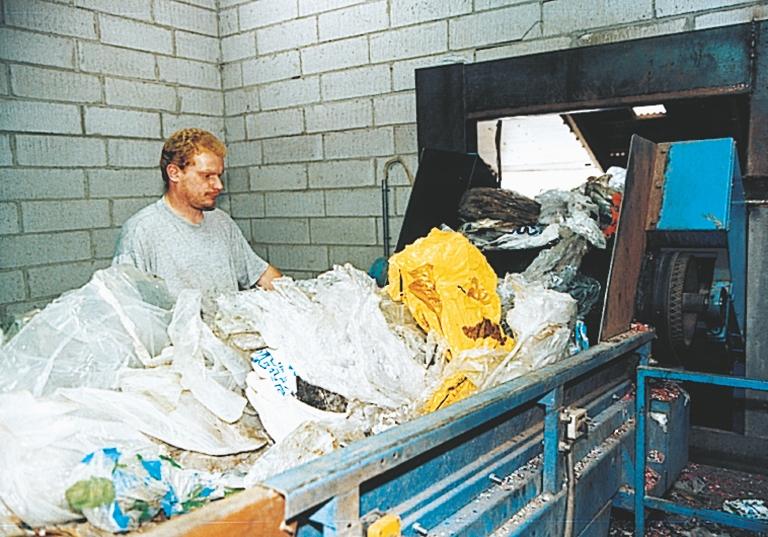 Plast til forbrænding