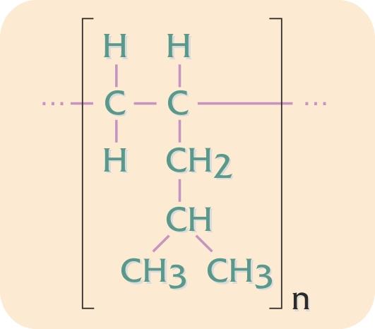Kemisk formel for polymethyl- penten