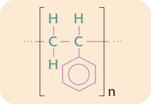 Kemisk formel for polystyren