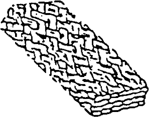 Tredimensionalt fletværk