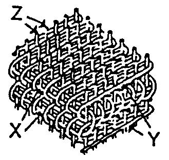 Triaksialt og tre-dimensionalt væv