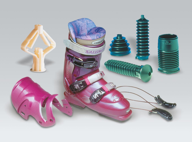 Eksempler på anvendelse af termoplastisk elastomer (DuPont)