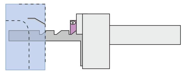 Mekanisk lukkesikring - åben låge