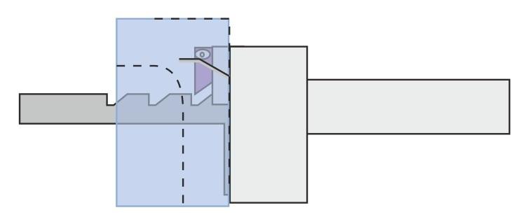 Mekanisk lukkesikring - lukket låge