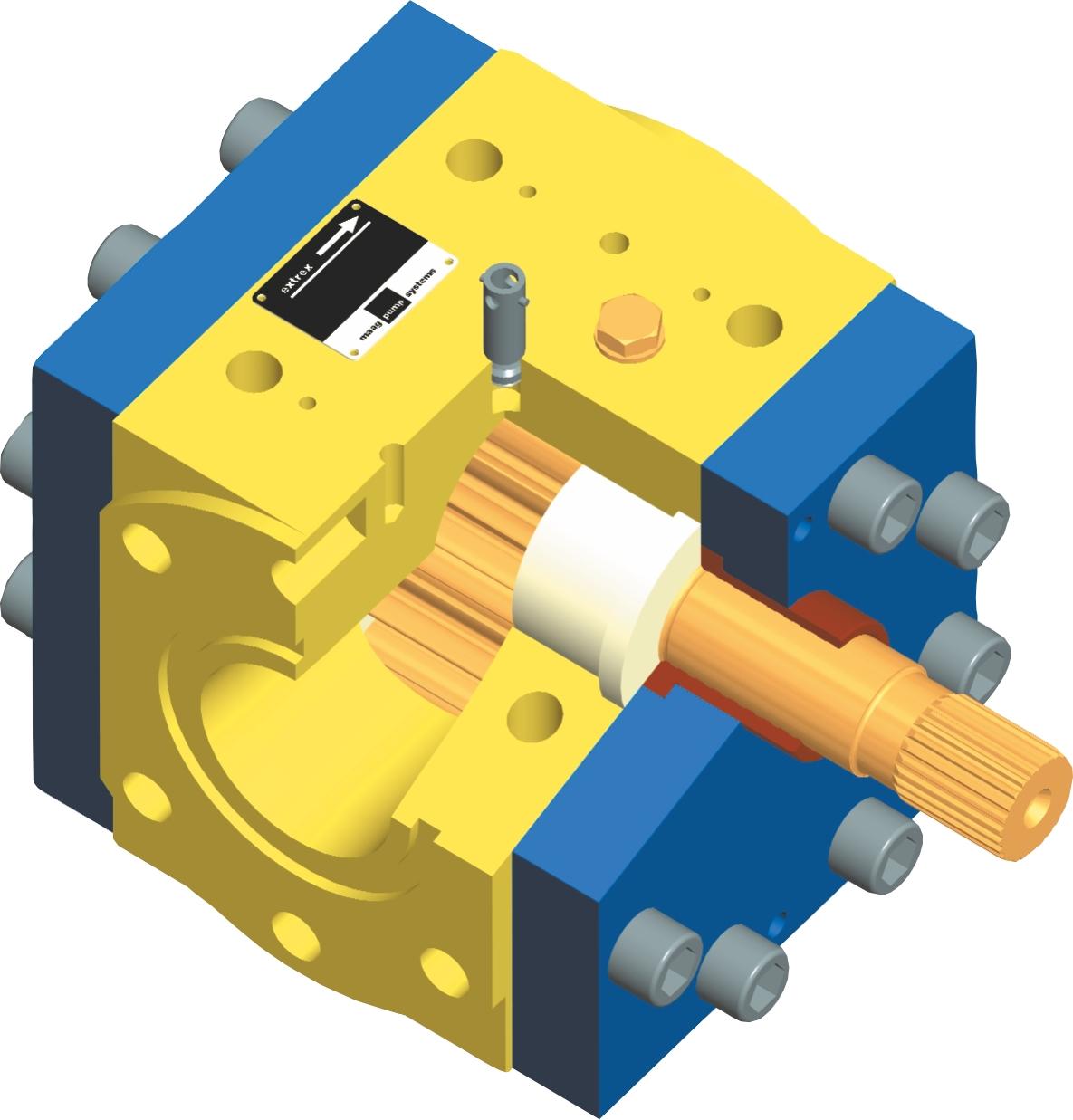På billederne nedenfor ses anvendelseseksempler på gearpumpen.