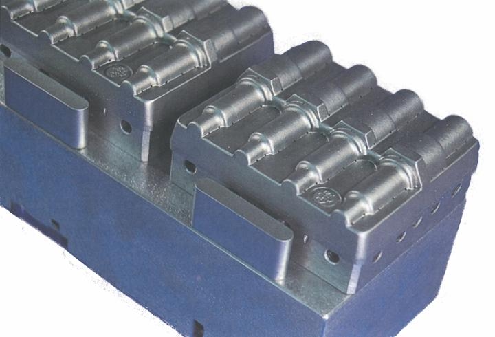 Positivform til fremstilling af tændrørs-emballage