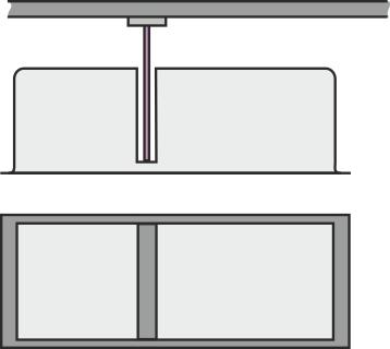 Sværdformet overstempel