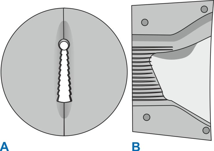 Profilværktøj til tætningsliste