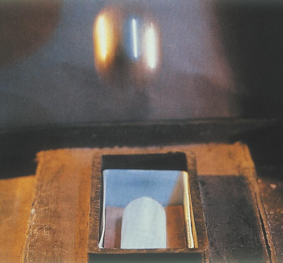 Slagprøvning af flasker med 2 kg-kugle